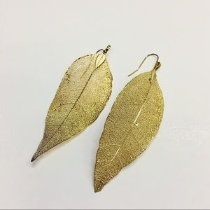 beautiful Leaf earrings